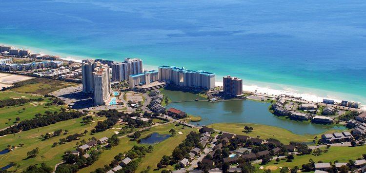 Map Of Destin Beach Resorts