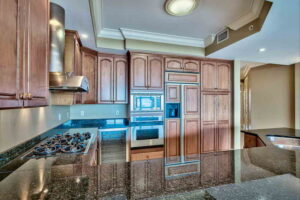 picture of the Expansive luxury kitchen and Avalon Dunes condo unit 103