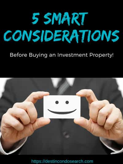 5 smart considerations before buying an investment property