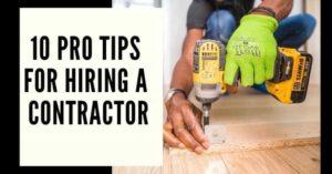 10 tips for hiring a Destin Florida contractor